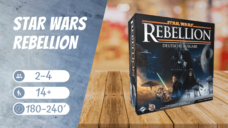 Star Wars Rebellion Brettspiel