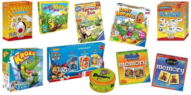 Brettspiele für 4 Jährige