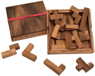 3 beliebte Holz Solospiele für Senioren - Extra große Spiele