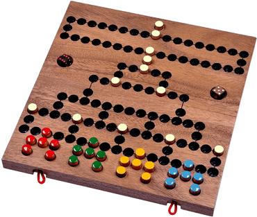 3 moderne Holz Brettspiele für Kinder - Blockade