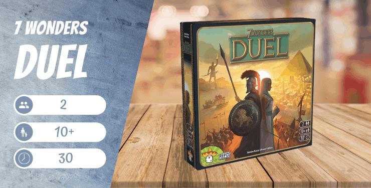 7 Wonders Duel Spiel