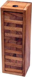 Wackel Turm Gr. XL - Condo - Holzturm - Geschicklichkeitsspiel