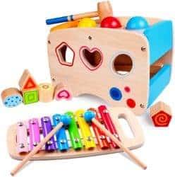 Rolimate Xylophon und Hammerspiel Spielzeug