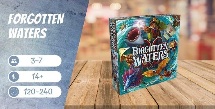 Forgotten Waters Brettspiel