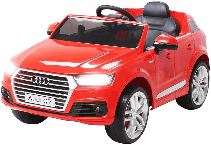 Actionbikes Motors Kinder Elektroauto Audi Q7 4M - 2 x 45 Watt Motor - 2,4 Ghz Rc Fernbedienung - USB - Mp3 - Elektro Auto für Kinder ab 3 Jahre