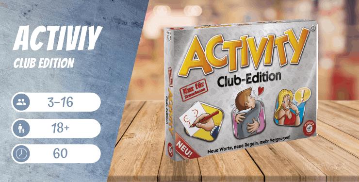 Activity Club Edition - nu für Erwachsene