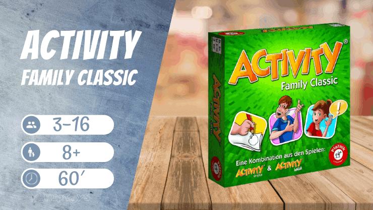 Activity Family Classic Brettspiel