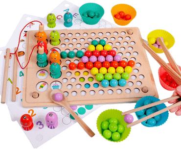 Angelspiel Magnetisches Holzpuzzle für Kinder