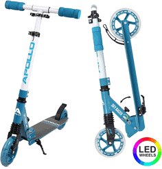 Apollo Scooter LED - Skyracer mit Led Wheels