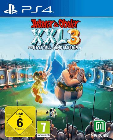 Asterix & Obelix XXL3 - Der Kristall-Hinkelstein - PS4 Spiele für Kinder ab 6