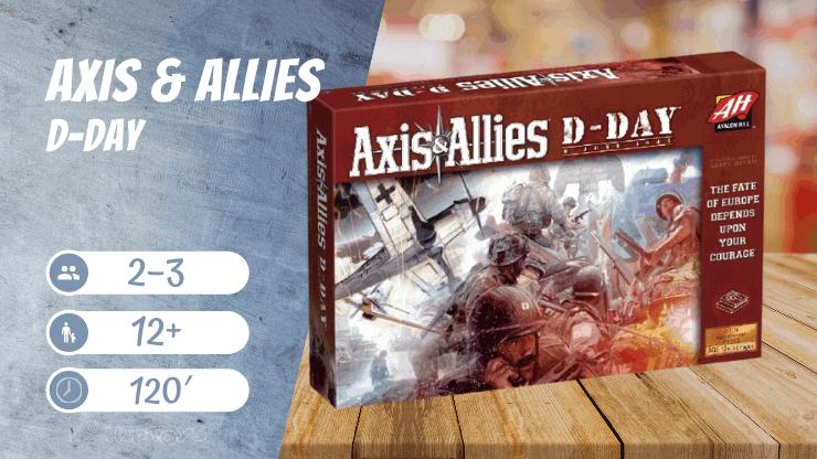 Axis & Allies D-Day Brettspiel