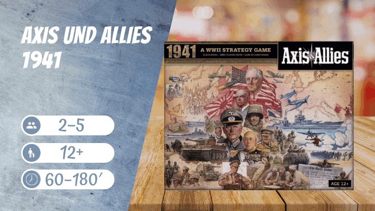 Axis und Allies 1941 Brettspiel