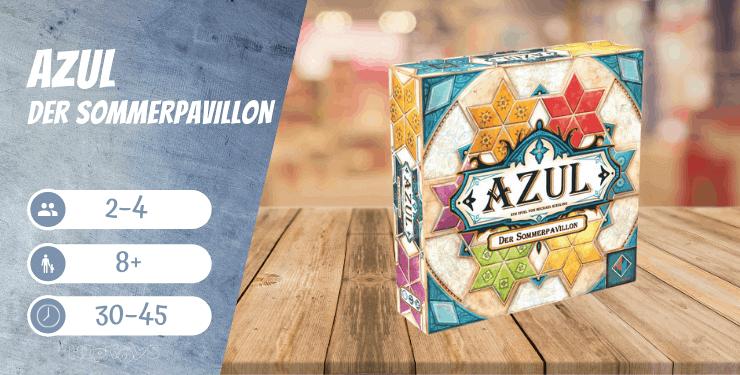 Azul - Der Sommerpavillon Spiel