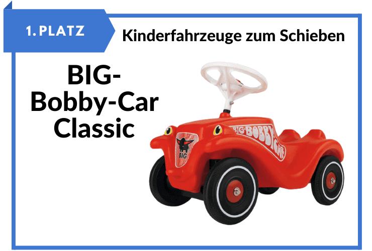 BIG-Bobby-Car Classic - Kinderfahrzeug für Jungen und Mädchen