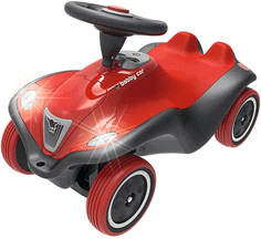 BIG-Bobby-Car Next - Deluxe Variante, Kinderfahrzeug mit LED-Front Scheinwerfer