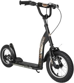 BIKESTAR Tretroller Kinderroller ab 6 - 7 Jahre  12 Zoll Sport Edition