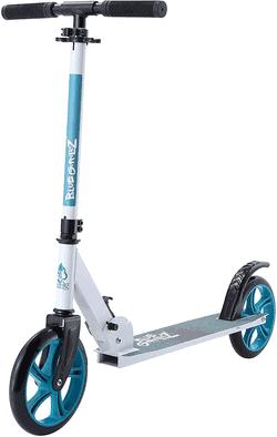 BLUE GORILLAZ Aluminium Cityroller ab 7 - 8 Jahre  205mm Klapproller