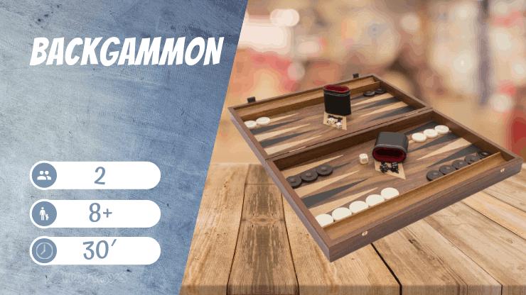 Backgammon Brettspiel