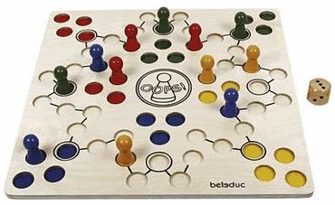 Beleduc - Oops! Holzbrettspiel für Senioren