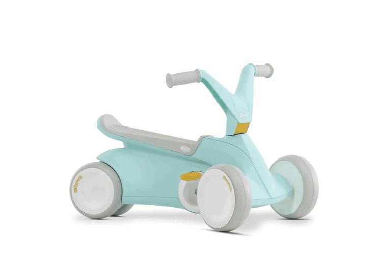 Berg GO² 2in1 Rutschauto  Rutscher und Laufrad, Kinderrutscher, Kinderauto - Kinderfahrzeuge für drinnen