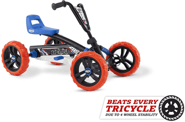 Berg Pedal Gokart Buzzy Nitro - Kinderauto zum Treten