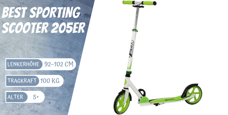 Best Sporting Scooter 205er