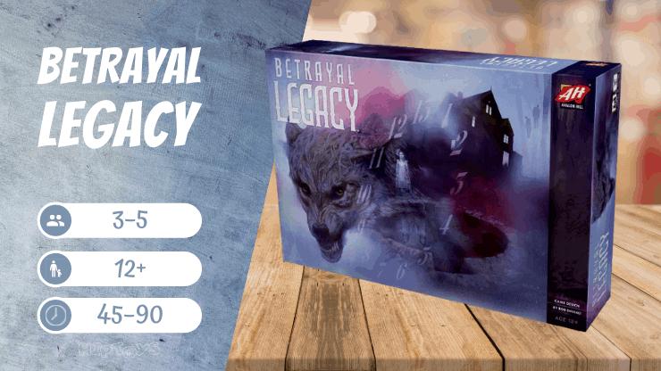 Betrayal Legacy Brettspiel