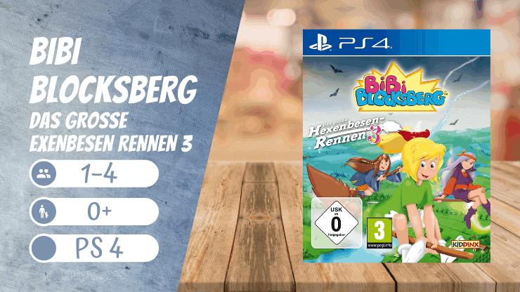 Bibi Blocksberg – Das große Hexenbesen Rennen 3 (die besten Spiele für Mädchen)