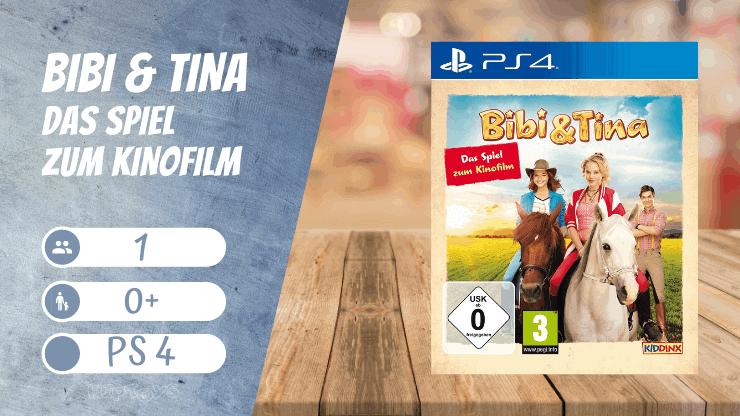 Bibi & Tina - Das Spiel zum Kinofilm (Ps4 Spiele Mädchen)