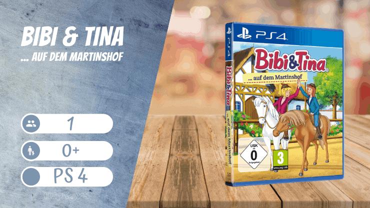 Bibi & Tina auf dem Martinshof Ps4 Spiele für Mädchen