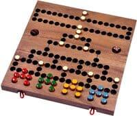 Holzspiele für Erwachsene - Blockade - Würfelspiel