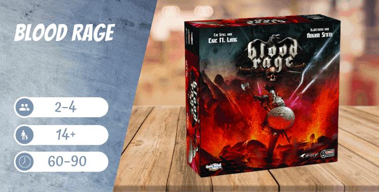 Blood Rage Spiel-Empfehlung