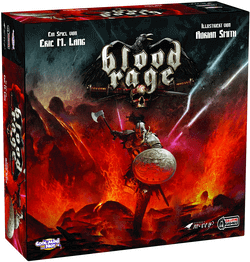 Blood Rage Spiel