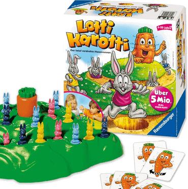 Tischspiele Kinder - Lotti Karotti - Hiptoys
