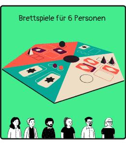 Brettspiele für 6 Personen