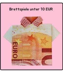 Brettspiele unter 10 Euro