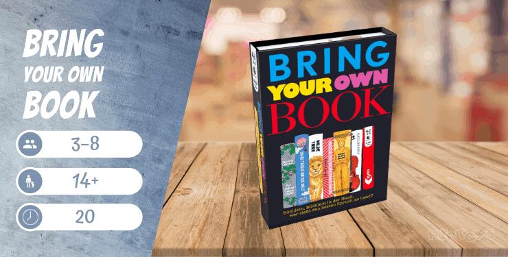 Bring your own book Spiel