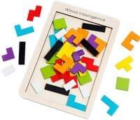 Buself Tetris Holzpuzzle