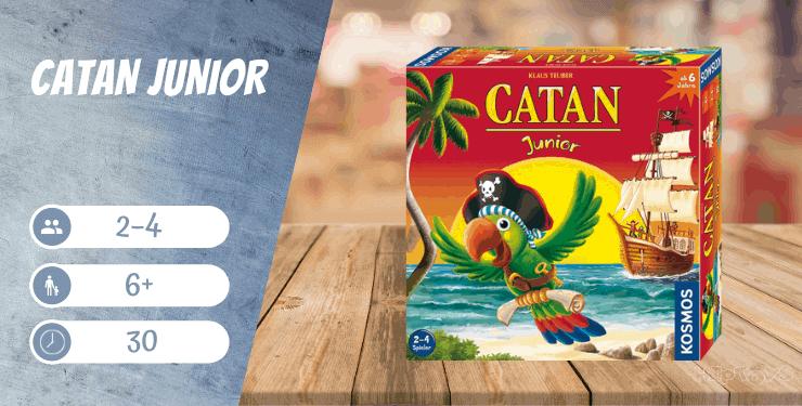 CATAN Junior Spiel