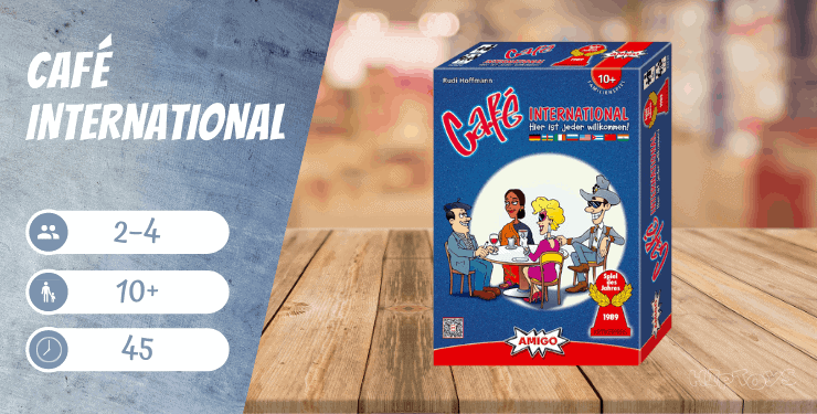 Café International Spiel