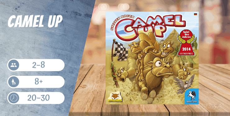 Camel Up 1st Edition