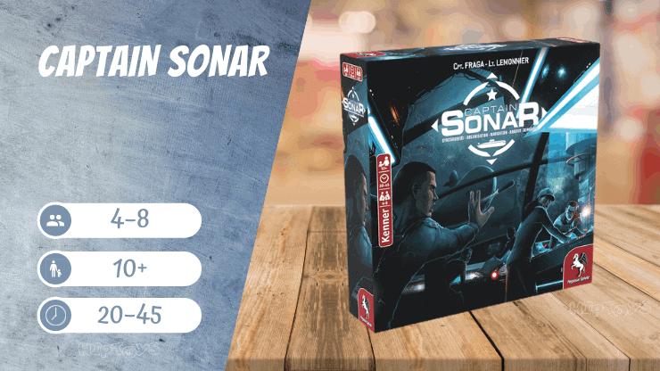 Captain Sonar Spiel