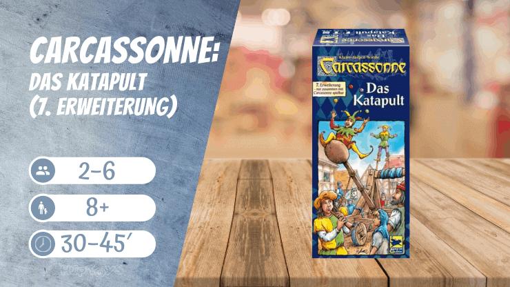 Carcassonne Das Katapult (7. Erweiterung) Brettspiel