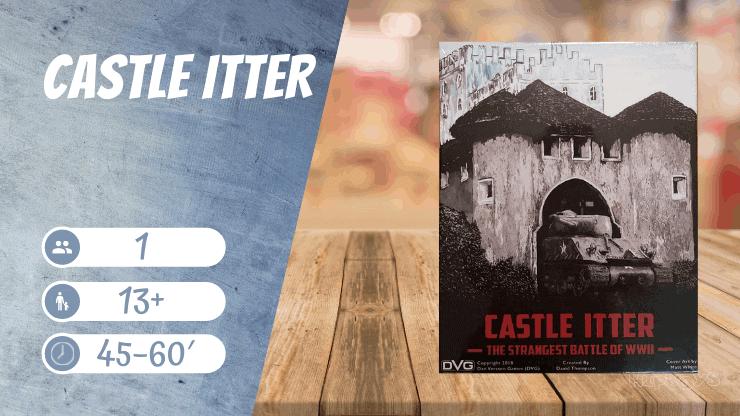 Castle Itter Brettspiel