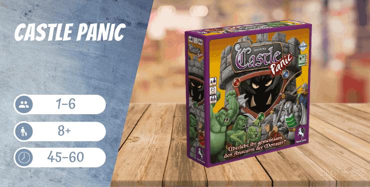Castle Panic Fantasy-Brettspiel