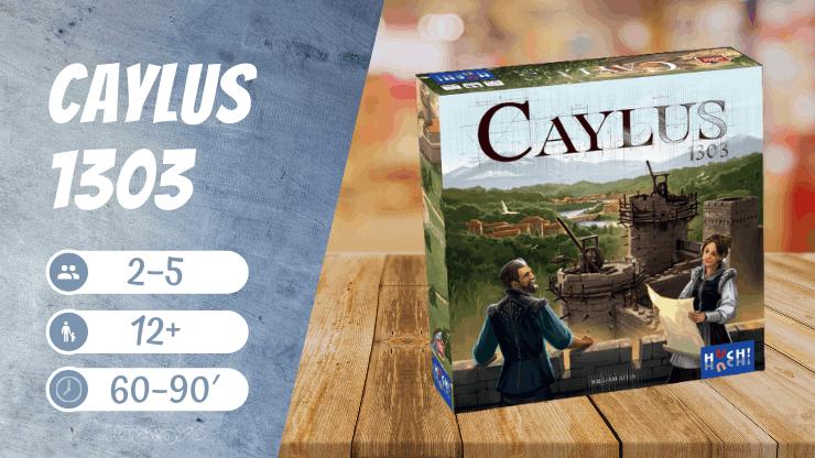 Caylus 1303 Brettspiel