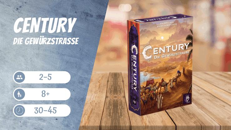 Century Die Gewürzstraße Spiel