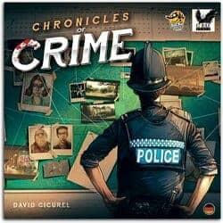 kooperative Brettspiele - Chronicals of Crime
