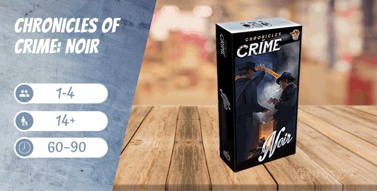 Chronicles of Crime Noir Spiel-Empfehlung