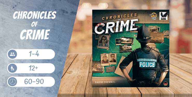 Chronicles of Crime - kooperatives Brettspiel